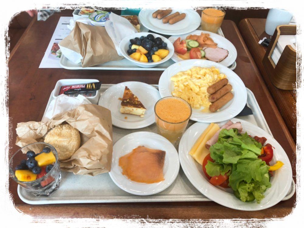 キューバスホテルの朝食
