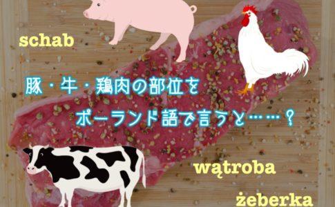 肉の部位をポーランド語で