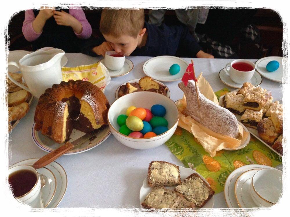 イースターの朝食