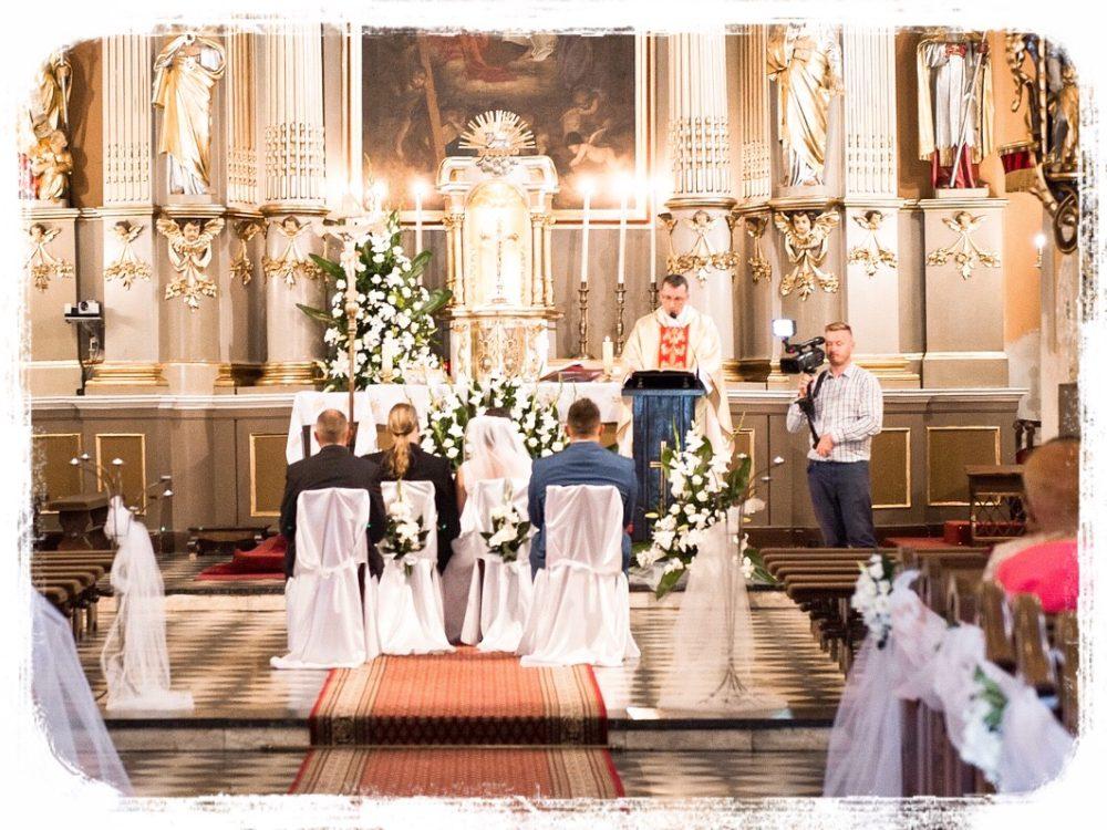 教会での結婚式