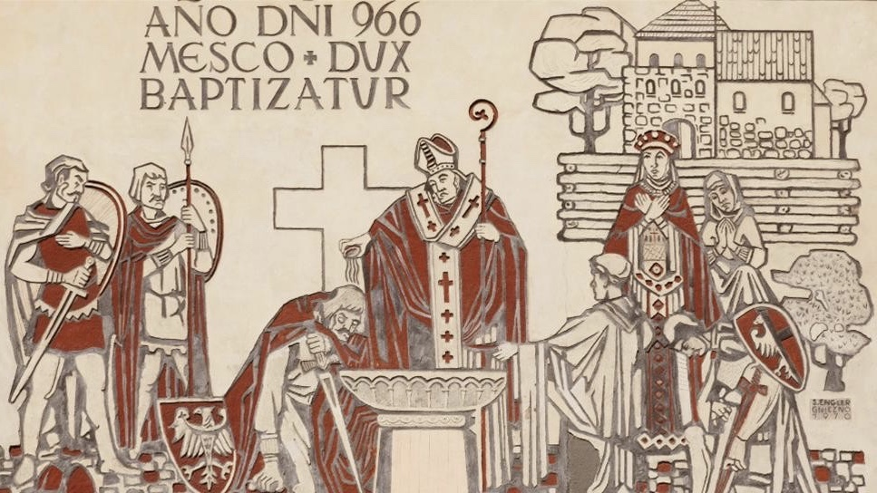 ミェシュコ1世の洗礼